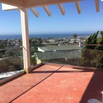 Unobstructed Ocean View Glass Balcony Railing Installation