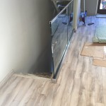 Glass And Aluminum Stair Railing Install