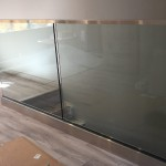 Glass Railing Aluminum Base With Stainless Cladding