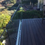 Del Mar Glass Railing Installation