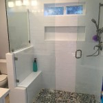 Glass Enclosure Custom Notched Panel San Diego