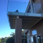 San Diego Tempered Glass Railing
