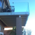 Tempered Glass Railing Del Mar