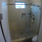 Sliding Shower Door Install