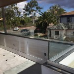 Tempered Glass Railing Install San Diego