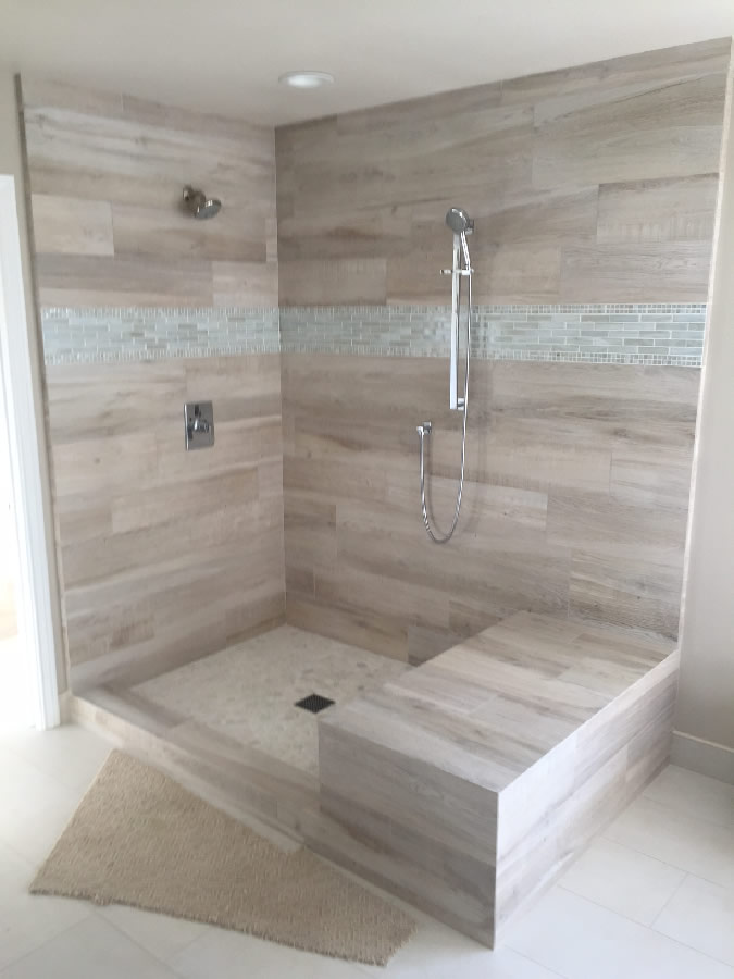 Custom Shower Enclosure San Diego California
