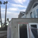 Before Glass Railing Installation San Clemente