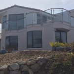 Facia Mounted Glass Railing Install