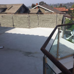 Glass Railing With Stainless Steel Posts Solana Beach