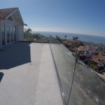 Half Inch Tempered Glass Railing San Clemente