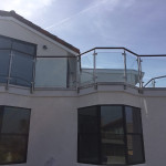 High End Glass Railing Installation Solana Beach