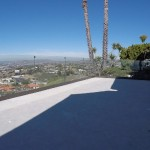 San Clemente Patio Glass Railing Installation