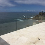 Glass Railing Install La Jolla
