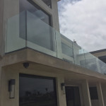 Half Inch Glass Railing Installation Bird Rock