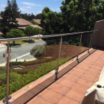 Wind Block Glass Railing San Diego