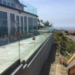 San Clemente Custom Glass Railing Patriot Glass And Mirrir