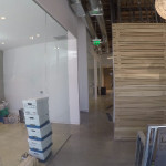 Custom Glass Office Wall Install San Diego