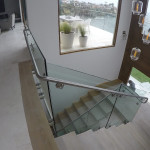 Glass And Stainless Custom Railing La Jolla