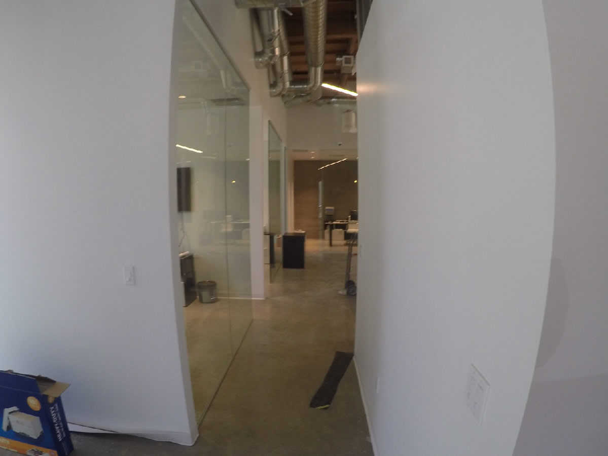 Office wall partitions san diego patriot glass and for Large glass wall