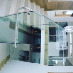 Stainless And Glass Railing Install La Jolla