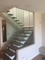 Tempered Glass Railing Panels Encinita