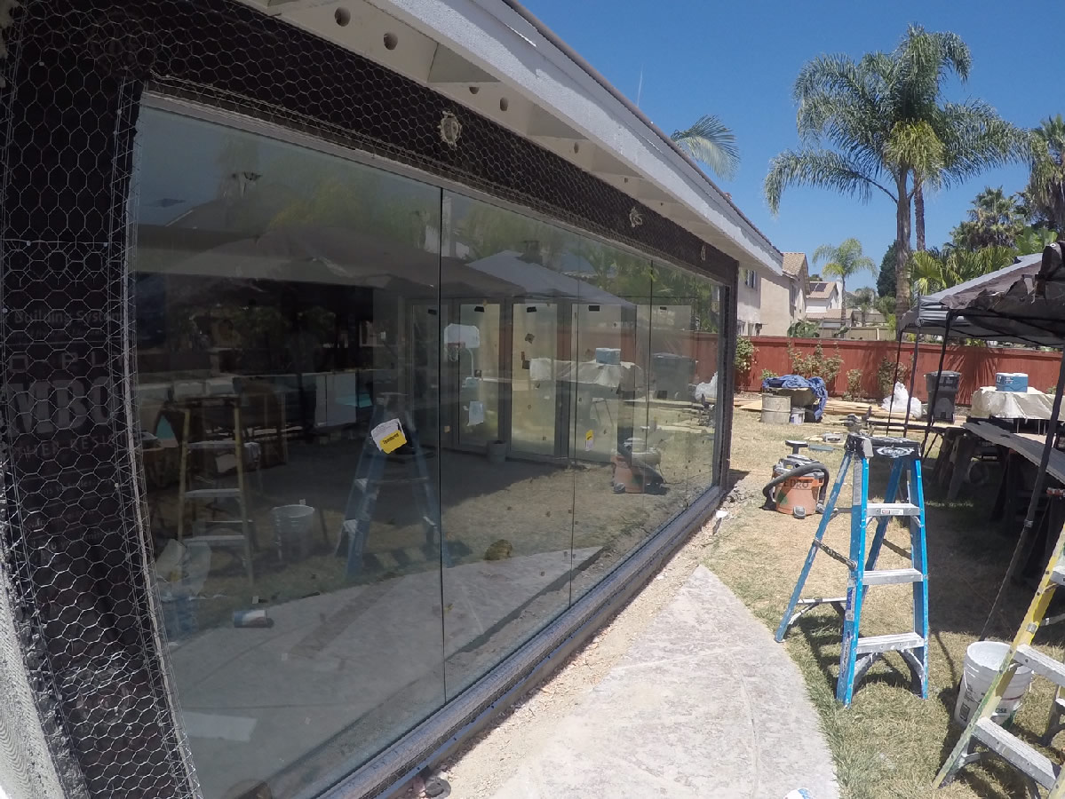 Exterior Glass Wall - San Diego - Patriot Glass and Mirror | San ...