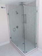 New Glass Shower Enclosure Install Encinitas