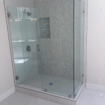 Shower Enclosure With 90 Degree Return Panel