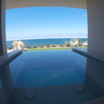 Beautiful Ocean View With Glass Railing Install