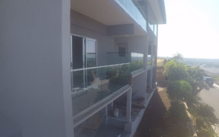 Pacific Beach Tempered Glass Railing Installed
