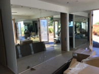 Yoga Room Mirror Install Pacific Beach
