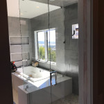 Tempered Shower Glass Custom Installation