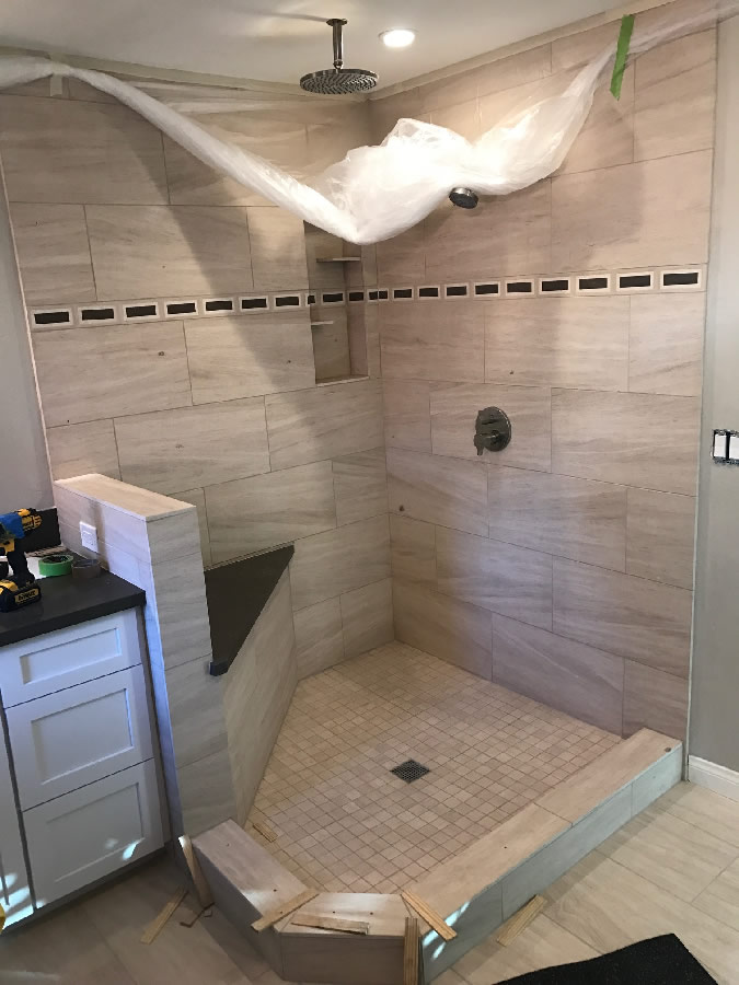 Custom Shower Glass Installation San Diego