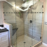 Three Eighths Custom Shower Glass San Diego
