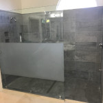 Custom Glass Shower Panel San Diego