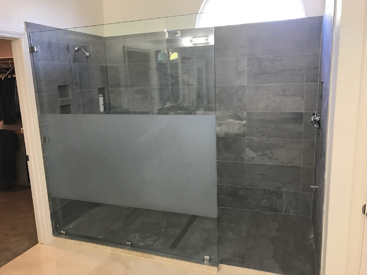 Custom glass shower panel patriot glass and mirror san Shower glass panel
