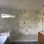 Installation Of Frameless Glass Shower Enclosure La Mesa