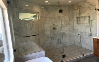 Large Glass Enclosure Installation La Mesa