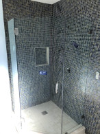 Point Loma Frameless Shower Glass Install