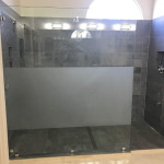 Sandblasted Glass Panel San Diego