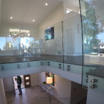 Stainless Steel Standoffs Custom Glass Railing Delmar