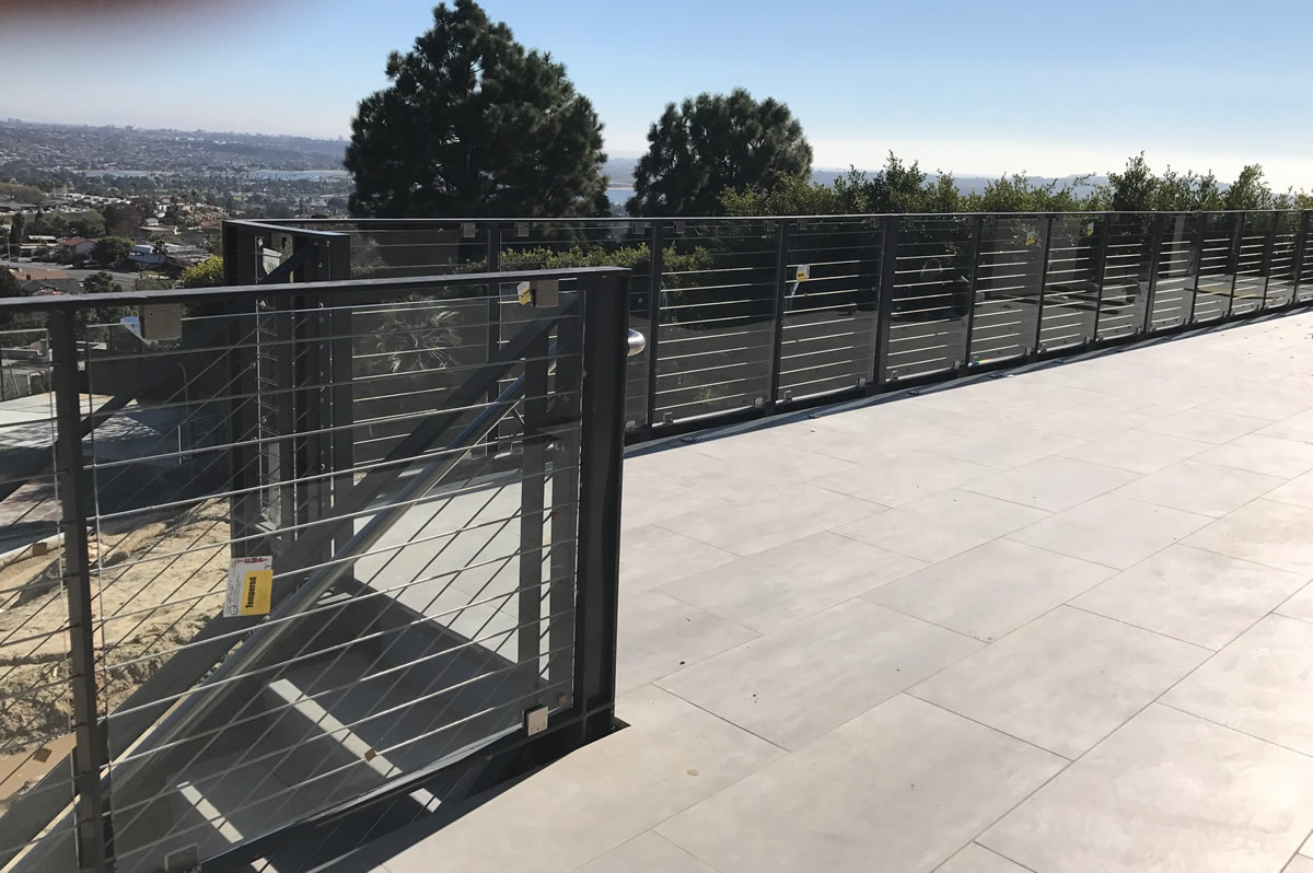 Patio Safety Railings Modern amp Outdoor