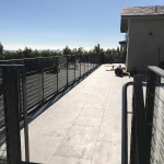Railing With Addition Of Stainless Clamps San Diego