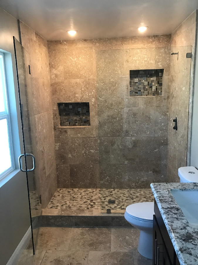San Diego Shower Glass Install