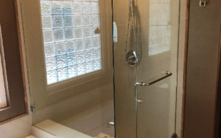 Custom Shower Glass Install Poway CA