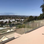 Custom Tempered Glass Railing Installation Point Loma