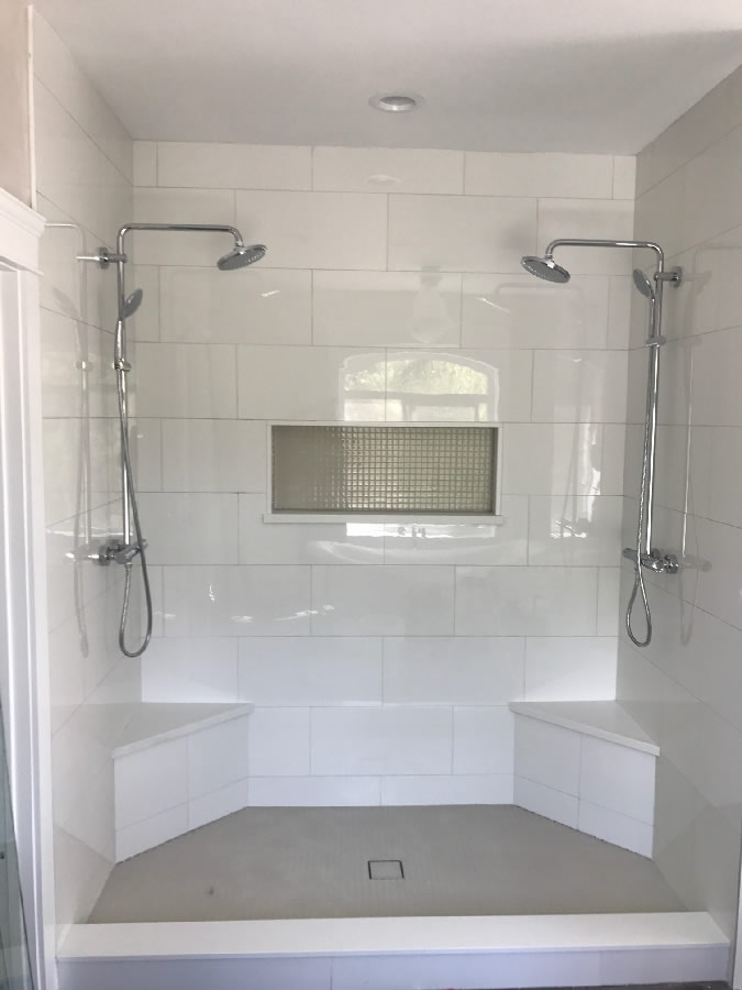 Ready To Install New Shower Glass