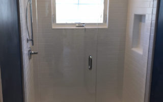 Supply And Install Of Glass Shower Enclosure