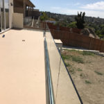Tempered Glass Patio Railing Point Loma