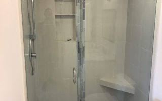 Three Eighths Custom Glass Shower Mission Beach